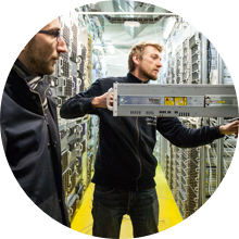 Find out more about our network of datacentres